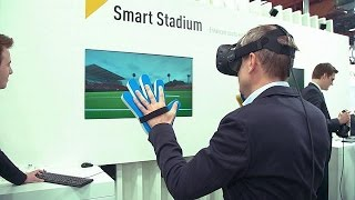 Au CeBIT, le virtuel devient réalité