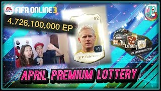 ~A World Legend?~ April Premium Lottery 2018 Opening - FIFA ONLINE 3