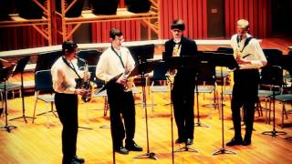 CFHS Saxophone Quartet - Jive for Five - Paul Nagle.mov