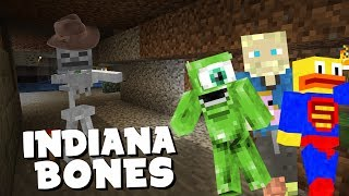 Video INDIANA BONES - Vanilla Minecraft Ep. 13 download MP3, 3GP, MP4, WEBM, AVI, FLV Agustus 2018