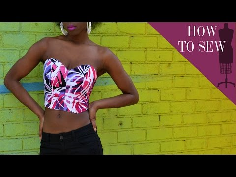 how to make a no sew corset