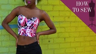 (RYC) 28: DIY Sweetheart Strapless Bustier