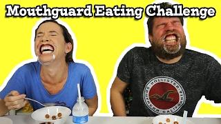 Mouthguard Food Eating Challenge
