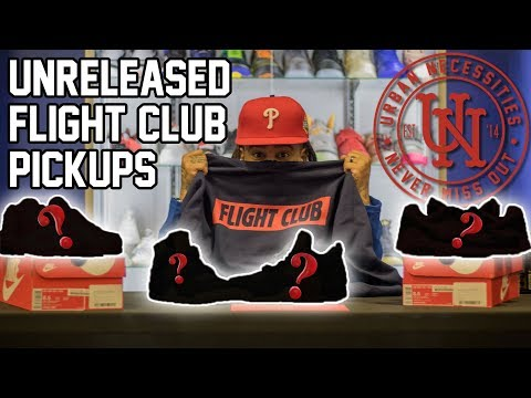 SNEAKER SHOPPING AT FLIGHT CLUB!!!! (DROPPED A FEW RACKS ON UNRELEASED PAIRS)