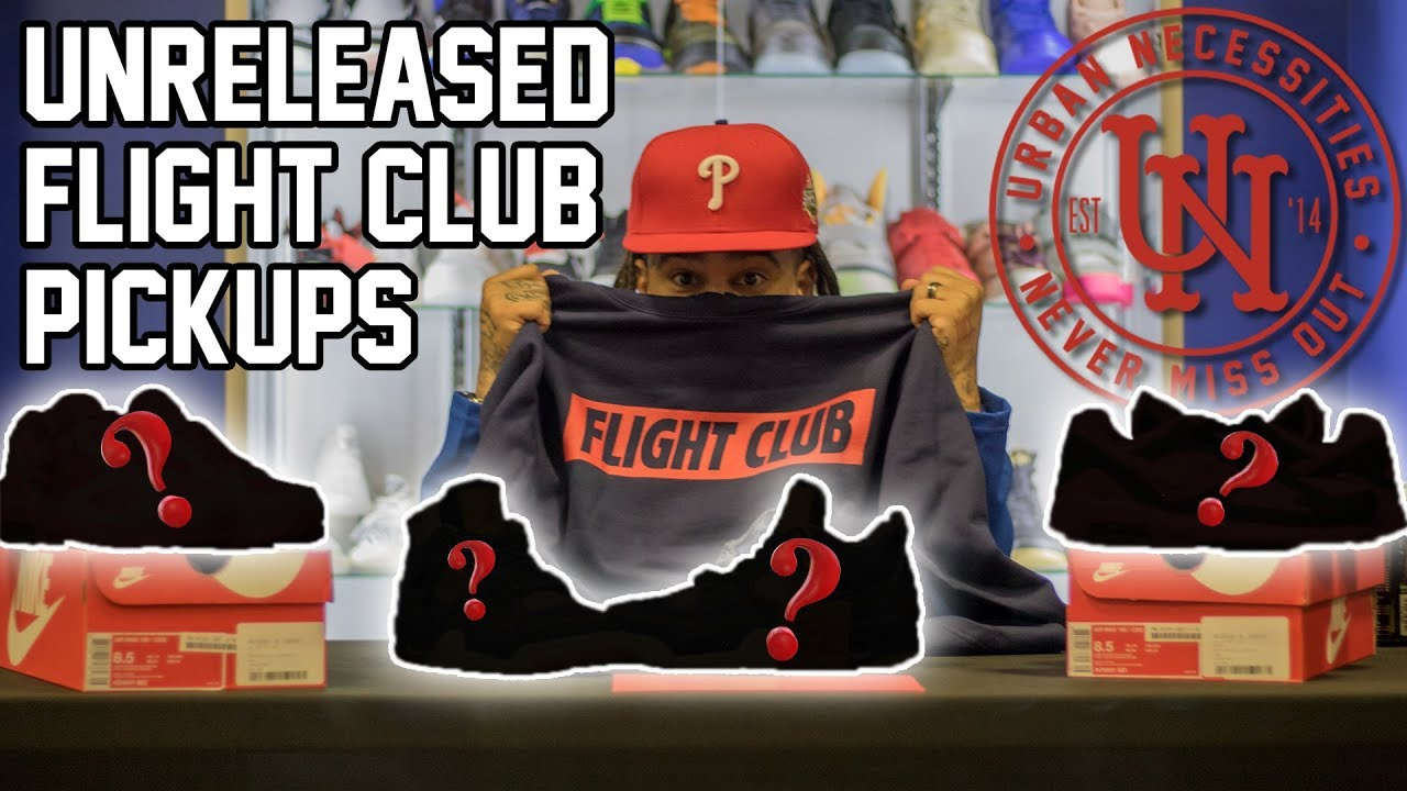 268b798a7 SNEAKER SHOPPING AT FLIGHT CLUB!!!! (DROPPED A FEW RACKS ON UNRELEASED  PAIRS)