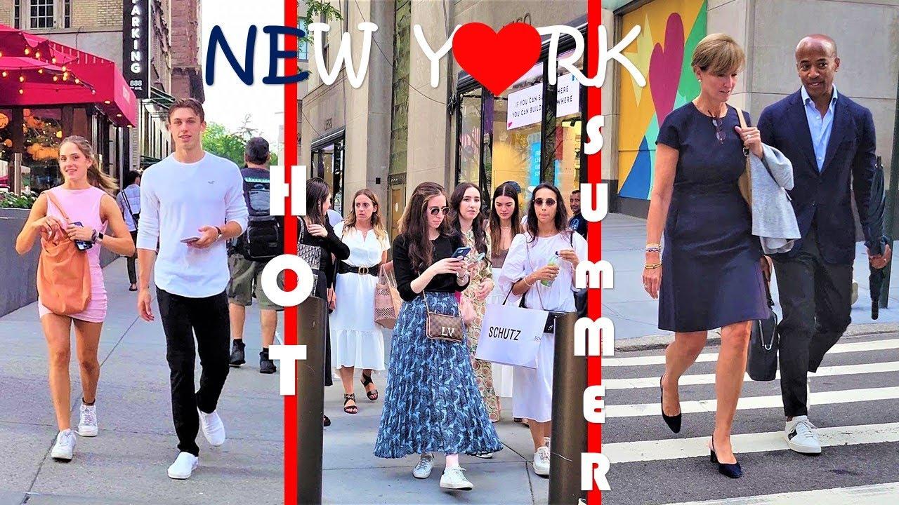 [4K]🇺🇸NYC Walk 💞 5th Avenue, Billonaires' Row, 7th Av, Rockefeller Center 2021🇺🇸 Midtown Manhattan ⭐