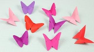 Origami Schmetterlinge falten DIY