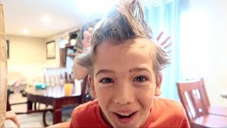 WHAT HAPPENED?! | CRAZY HAIR DAY