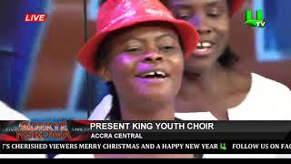 Adekye Nsroma With Present King Youth Choir 24/12/19