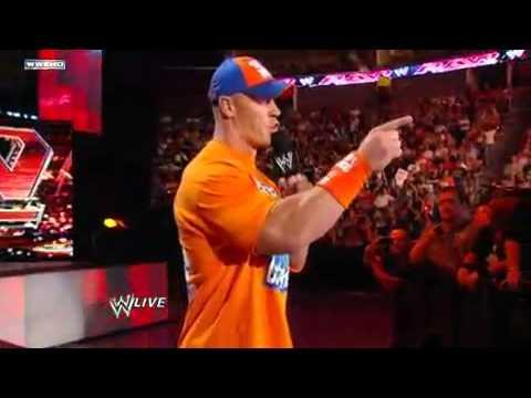 Wwe Nexus Vs John Cena Team Raw - John Cena...