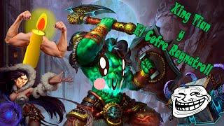 Baixar Xing Tian y el cofre Ragnatroll / Smite Gameplay humor
