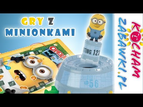Gry z minionkami: Wyskakujący Minionek & Operacja & Spadające Minionki • Gru Dru i Minionki