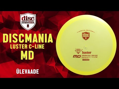 Discmania Luster C-Line MD review