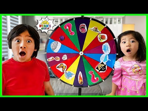 Ryan's Kids Story About Magic Wheel With Family!!!