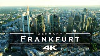 Frankfurt, Germany 🇩🇪 - by drone [4K]