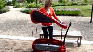 Radio Flyer Canopy Assembly