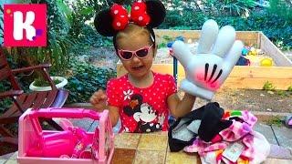 Посылка с игрушками Микки Маус от Дисней распаковка Box with toys Minnie Mouse Disney unboxing