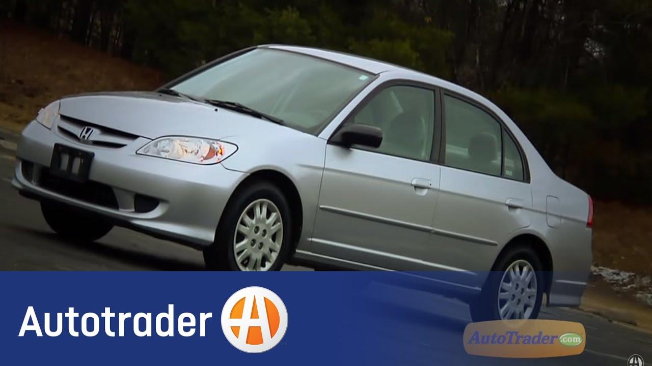 2001 2005 Honda Civic Sedan Used Car Review Autotrader Com Youtube