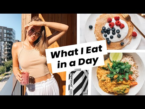 Vegan What I Eat In a Day (feat. Sproud)
