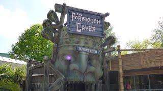 The Forbidden Caves Onride (Full Experience) - Bobbejaanland