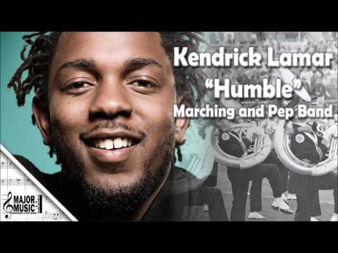 """Humble"" Kendrick Lamar Marching/Pep Band Sheet Music Arrangement"
