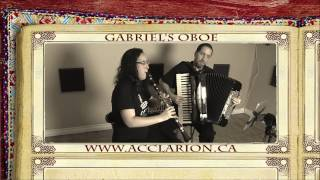 acclarion plays gabriels oboe by morricone on accordion and clarinet