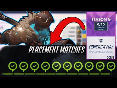 Overwatch Season 9 Placements Tips / Guide / Changes / Meta