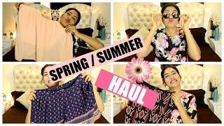 HUGE Spring/ Summer Haul 2016 - KOOVS and SAROJINI NAGAR | StyleMeUpWithSakshi
