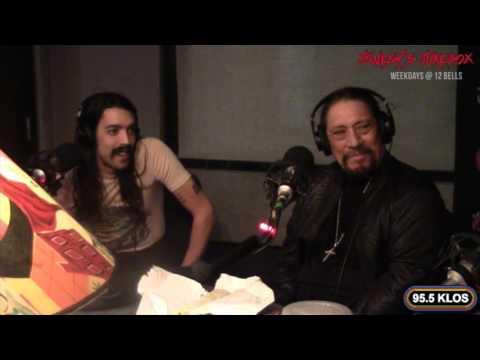 Danny Trejo in-studio on Jonesy's Jukebox
