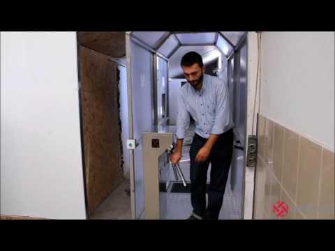 ORPAŞ A.Ş. - İnsan Dezenfeksiyon Sistemleri (Hijyen Tüneli)