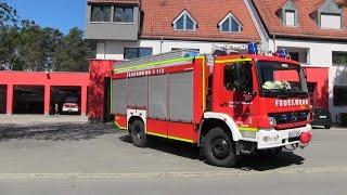 Chief, Engine, Heavy Rescue & 2nd Engine Feucht VFD responding