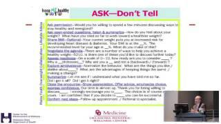 Pediatric obesity conference - goal ...