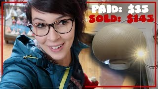 I went shopping and made $100. | Antiques Buying & Reselling | Crazy Lamp Lady