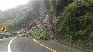 南投新聞  埔霧公路嚴重坍方交通中斷