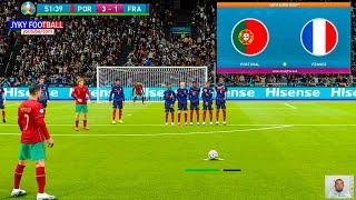 PES 2021 Portugal vs France EURO 2021 group F C Ronaldo Free Kick Goal Full Match HD
