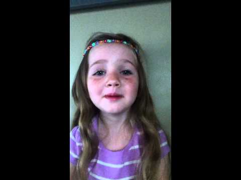 Best Song Ever-1D- Sung by a cute/funny little girl