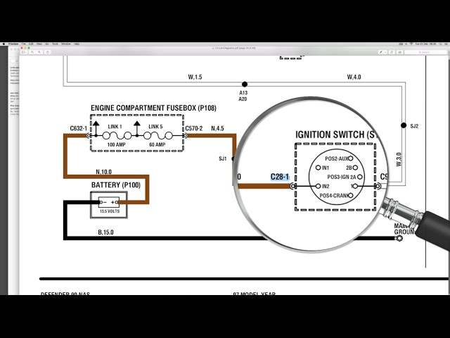 [CSDW_4250]   Use the electrical library with the wiring diagram - Understanding Land Rover  wiring diagrams - YouTube | 1999 Range Rover Wiring Diagram |  | YouTube