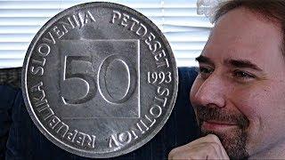 Slovenia 50 Stotinov 1993 Coin