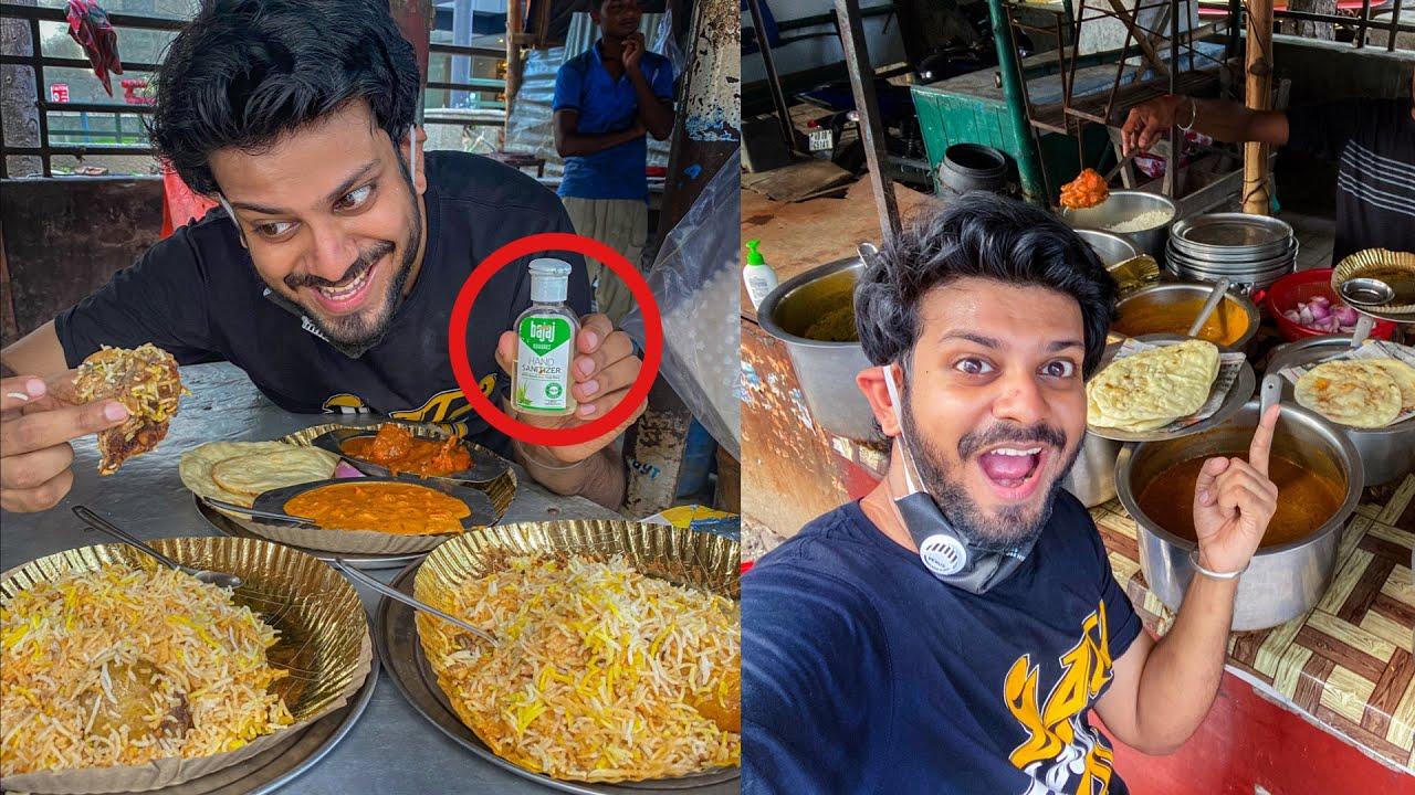 Tried an awesome  Kolkata STREET BIRYANI after unlock 1 😍🔥 | TheLazyBong