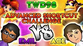 Mario Kart Wii Shortcuts - Emil vs. Ace - TWD98 Advanced Shortcut Challenge