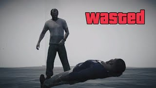 Grand Theft Auto V - What happens when Franklin finds Trevor in game