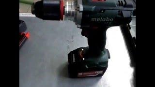 Свердла Metabo БС 18 LTX не Імпульс 2х4.0 ASC30-36 Ач, кейс (602191500)