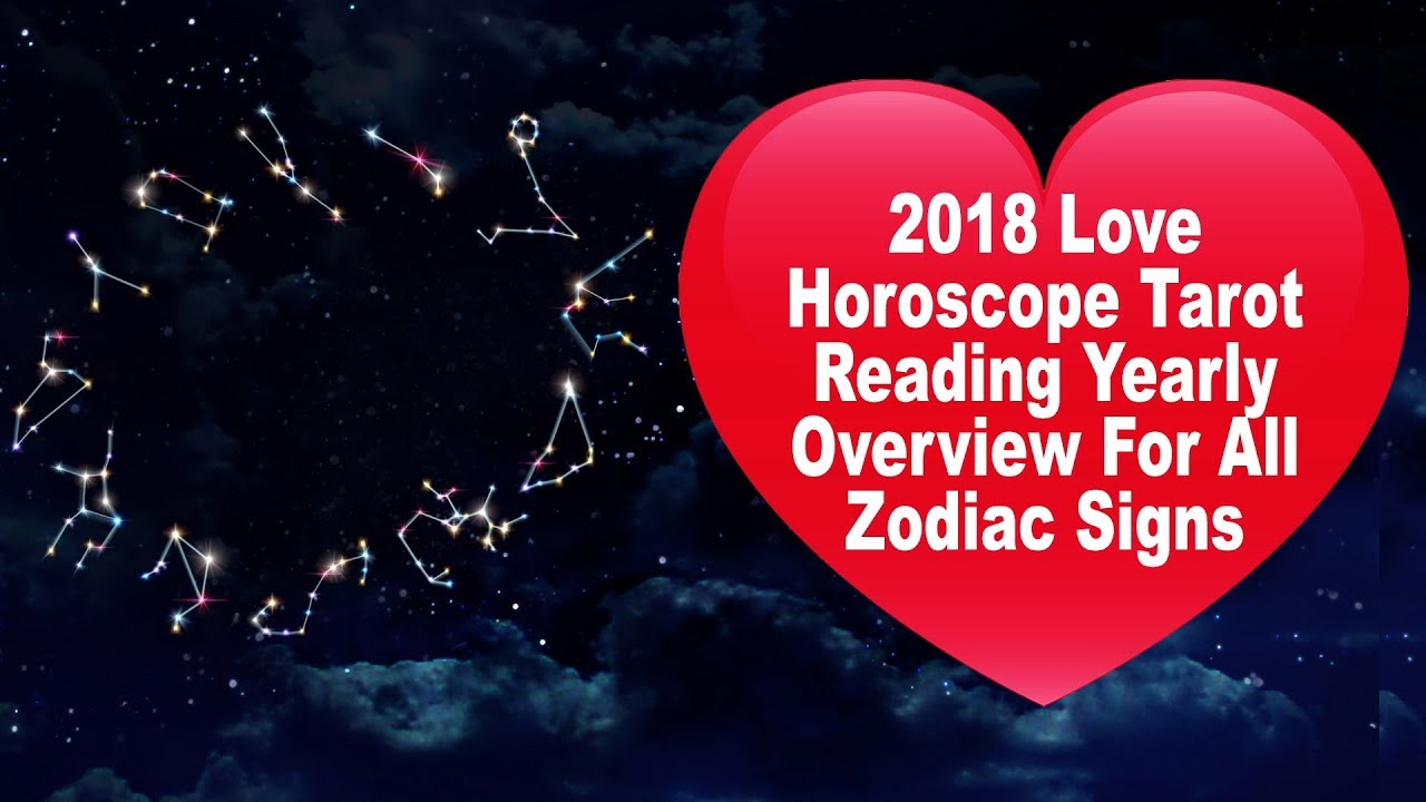 ALL ZODIAC SIGNS: 2018 Love Horoscope Tarot Reading Yearly Overview