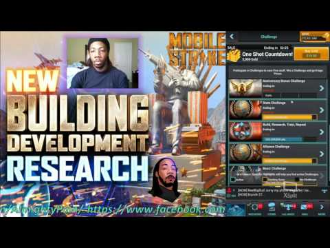 Mobile Strike Ep 288 Completing The Building Research Tree T