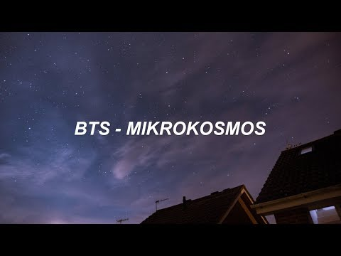 BTS (방탄소년단) 'Mikrokosmos' Easy Lyrics
