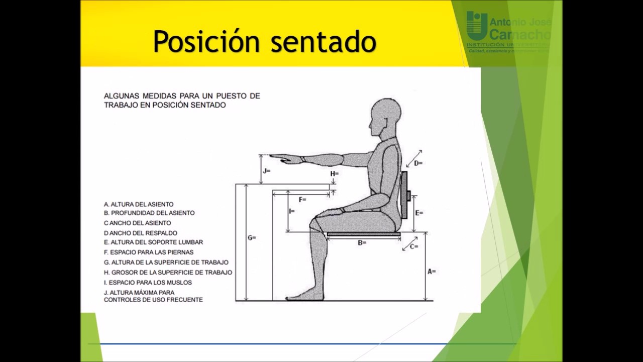video dise o silla ergonomica youtube