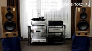 Прослушивание проигрывателя виниловых дисков Music Hall MMF-2.3