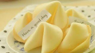 Làm bánh quy may mắn | fortune cookies