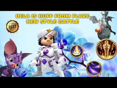 Royal Revolt 2 L Bela Is Buff From Flare. With Trickster+Bela Raid
