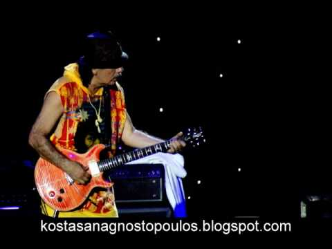 CARLOS SANTANA - Song for Devadip (PHOTOS FROM LIVE IN ATHENS by K.ANA)